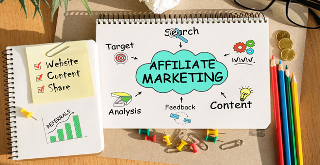 Affiliate site outsourcing